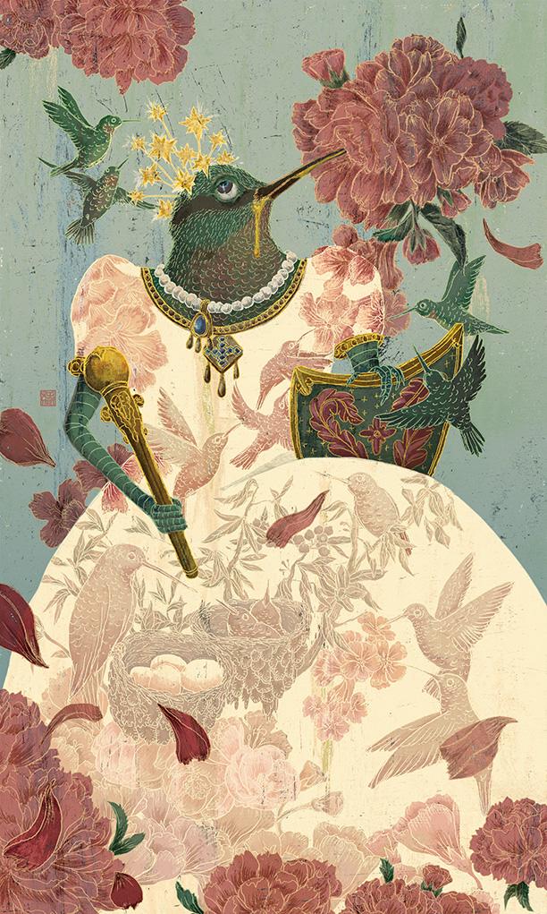 The Empress Hummingbird