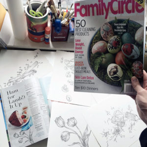 Family Circle April issue